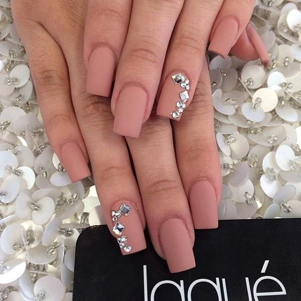 Think Matte Nude Is Toonude Then Add Some Diamonds