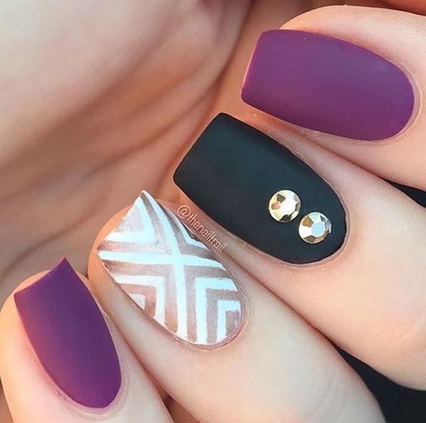 how to put matte nail polish