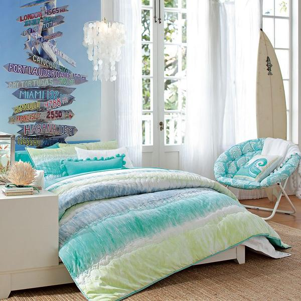 Coastal style bedroom idea-24