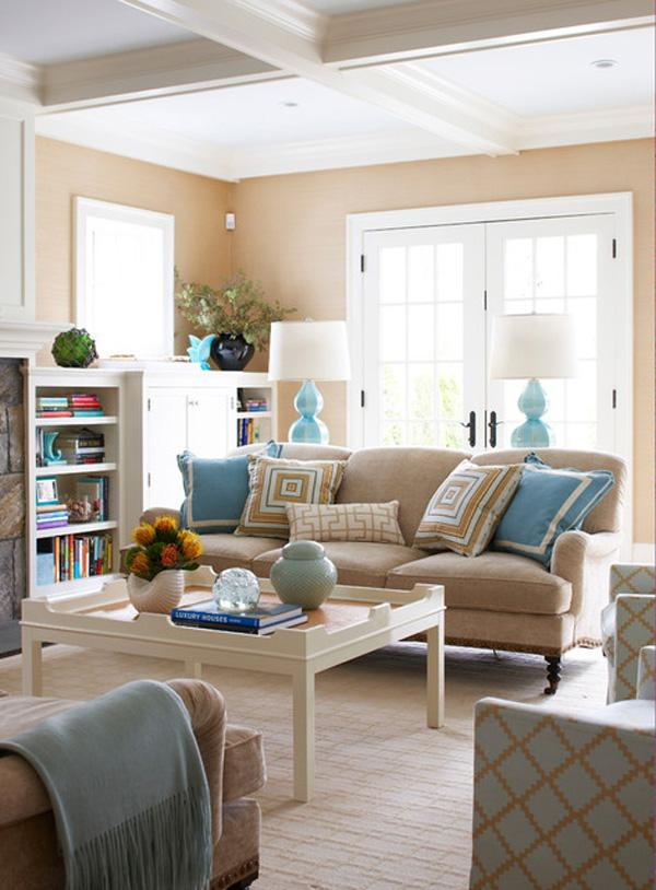 Coastal style interior design-1