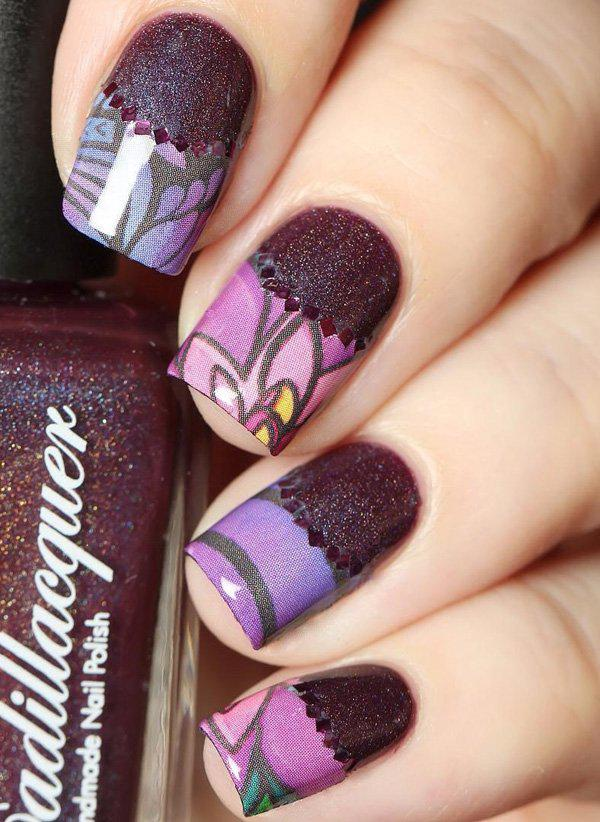 50 Half Moon Nail Art Ideas Art And Design