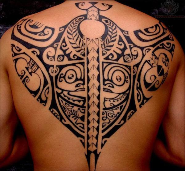 Samoan Ray Tattoo