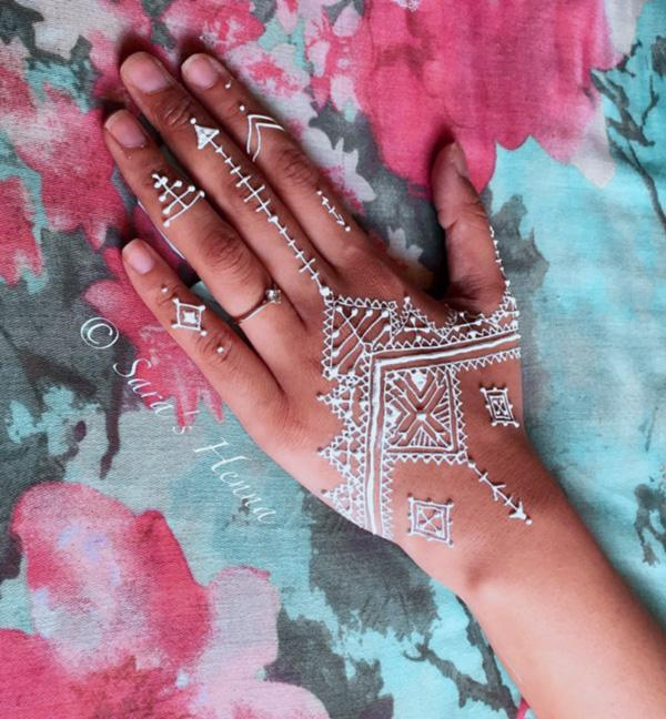 White Henna Design-18