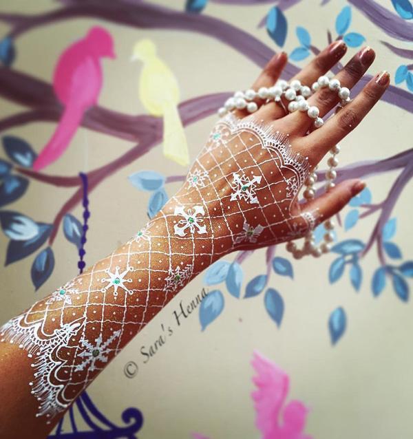 White Henna Design-20