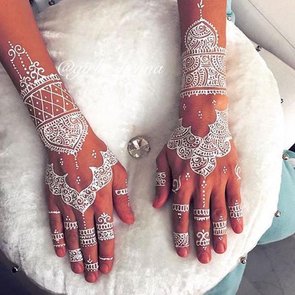 White Henna Design-25