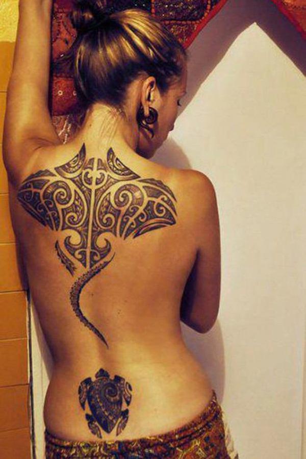 marquesan tattoo for women