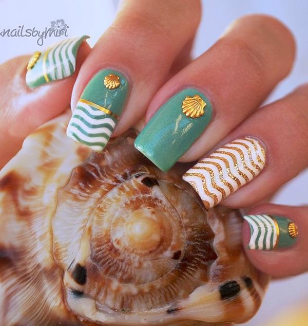 sea nail art-11