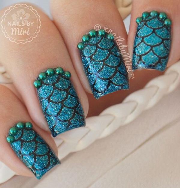 sea nail art-12