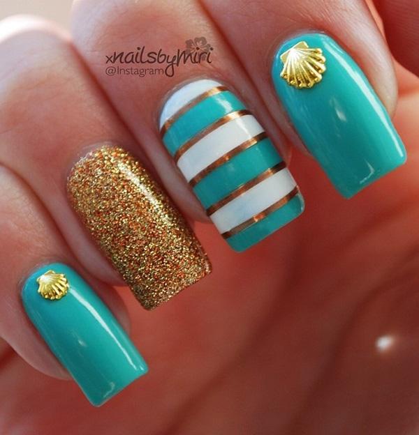 sea nail art-13