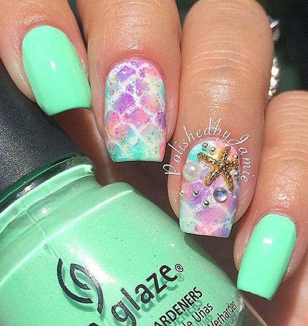 sea nail art-20