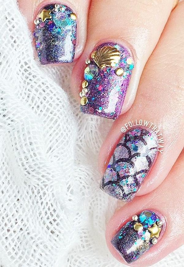sea nail art-21