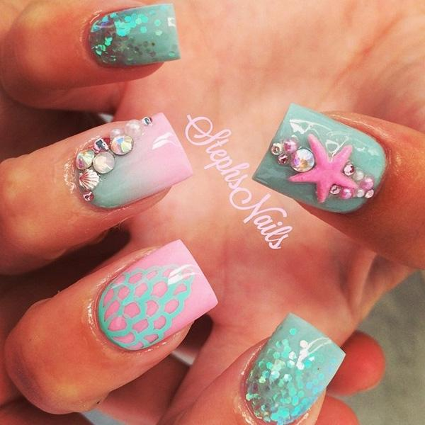 sea nail art-29