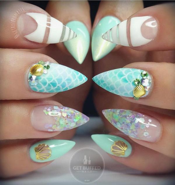 sea nail art-33