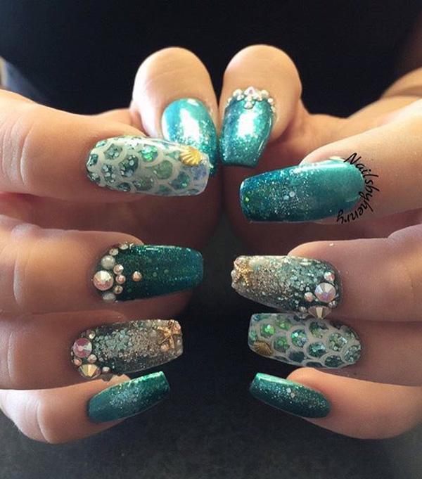 sea nail art-35
