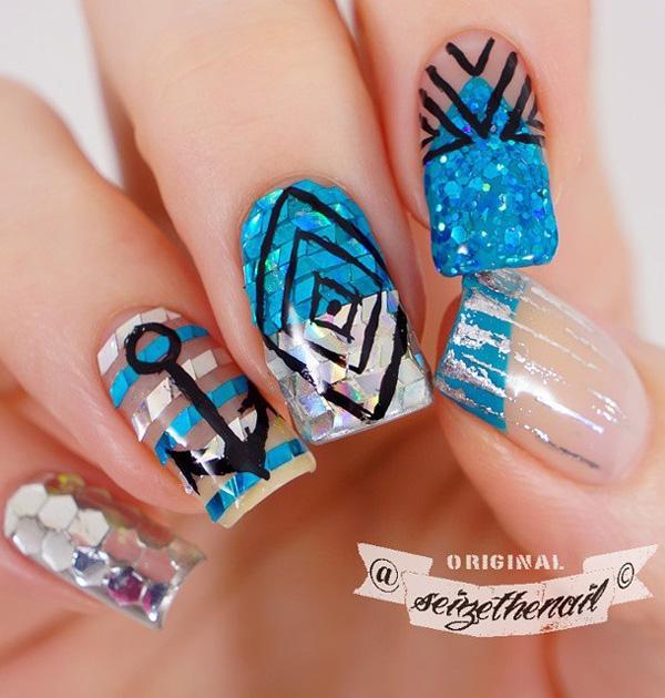 sea nail art-39