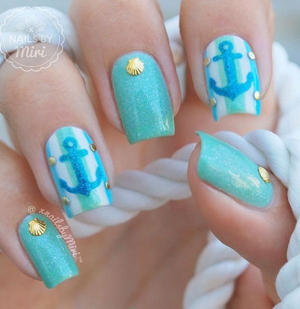 sea nail art-4