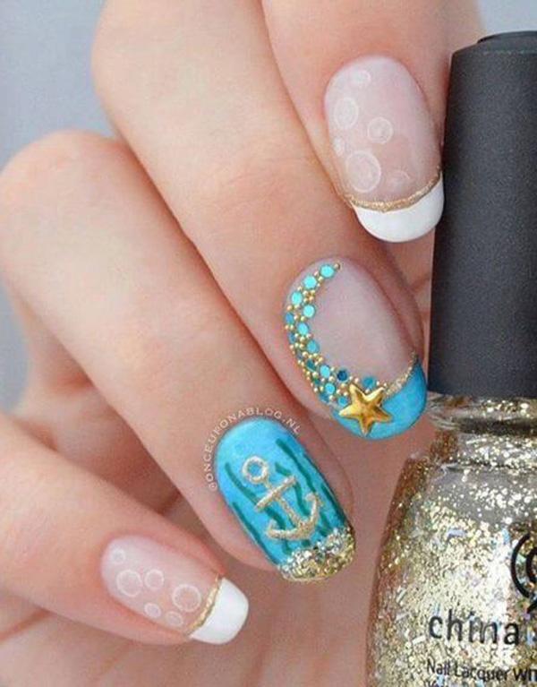 sea nail art-40