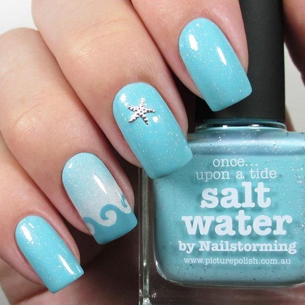 45 Ocean Nail Art Ideas Art And Design