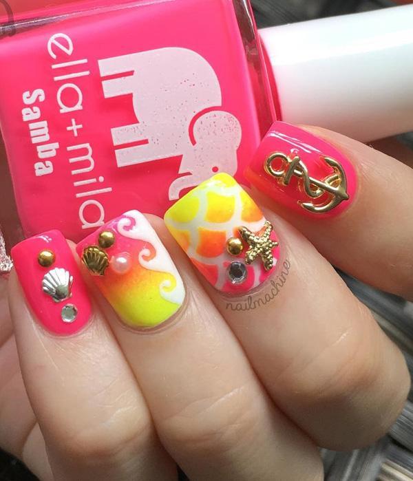 sea nail art-9