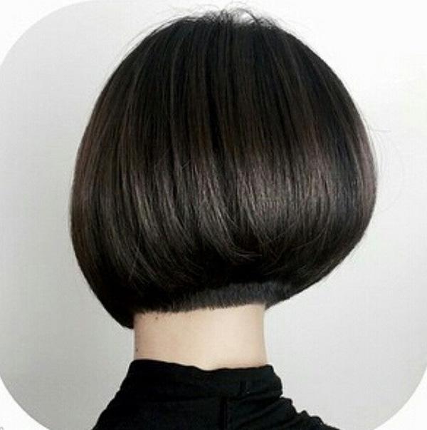 Pretty Short Bob Haircut Back View