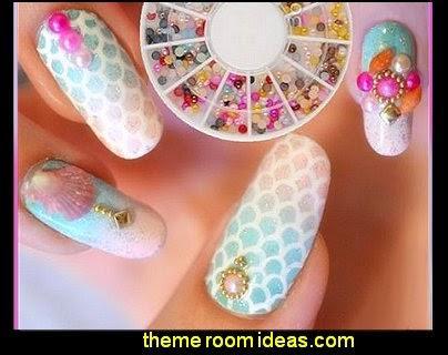 Round 3d Rhinestones Nail Art Decoration Art And Design