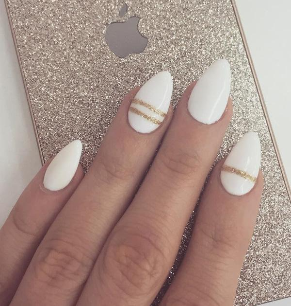 50 almond nail designs art and design details make life if you wait big things to happen you just might miss a solutioingenieria Images