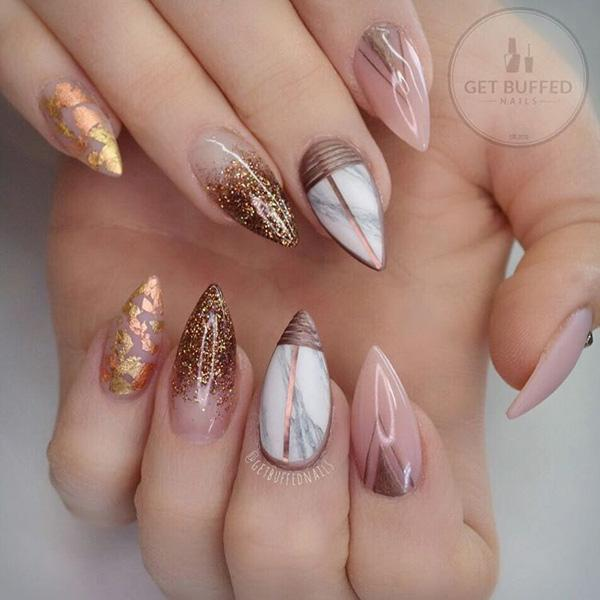50 Almond Nail Designs Art And Design