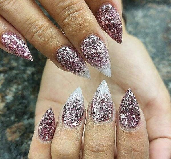 These nails provide an answer to the question of who's the boss. - 50+ Almond Nail Designs Art And Design