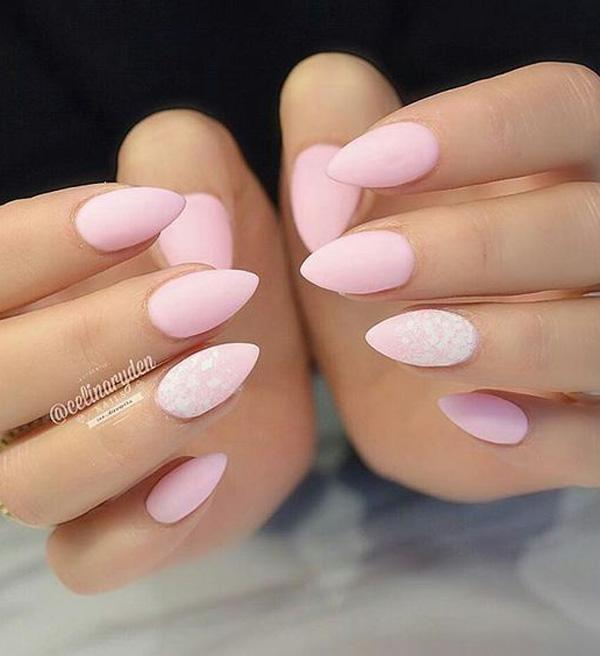 50 almond nail designs art and design these gentle shades will make your hands look young and cared for solutioingenieria Images