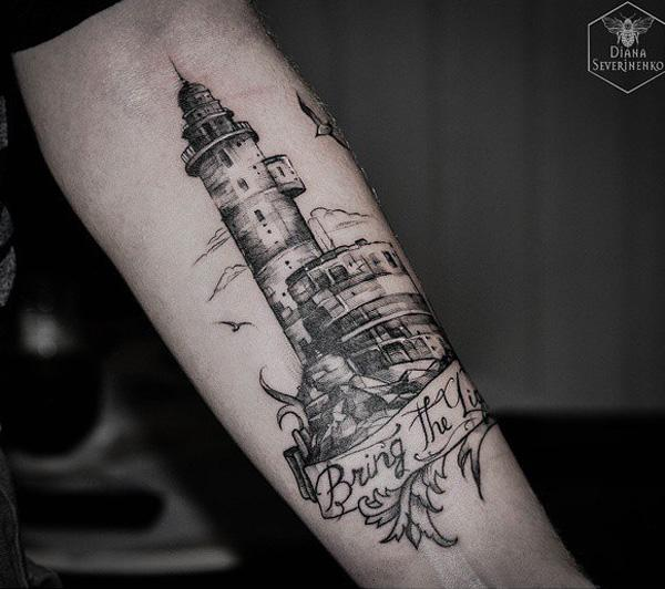 lighthouse-tattoo-1