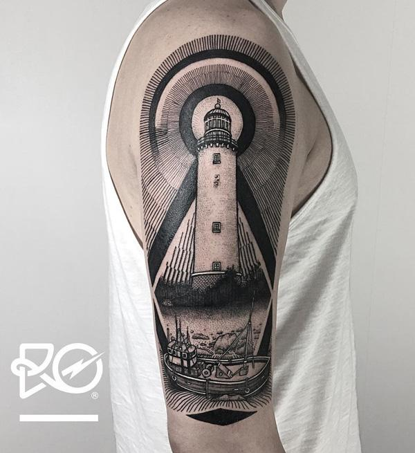 lighthouse-tattoo-4