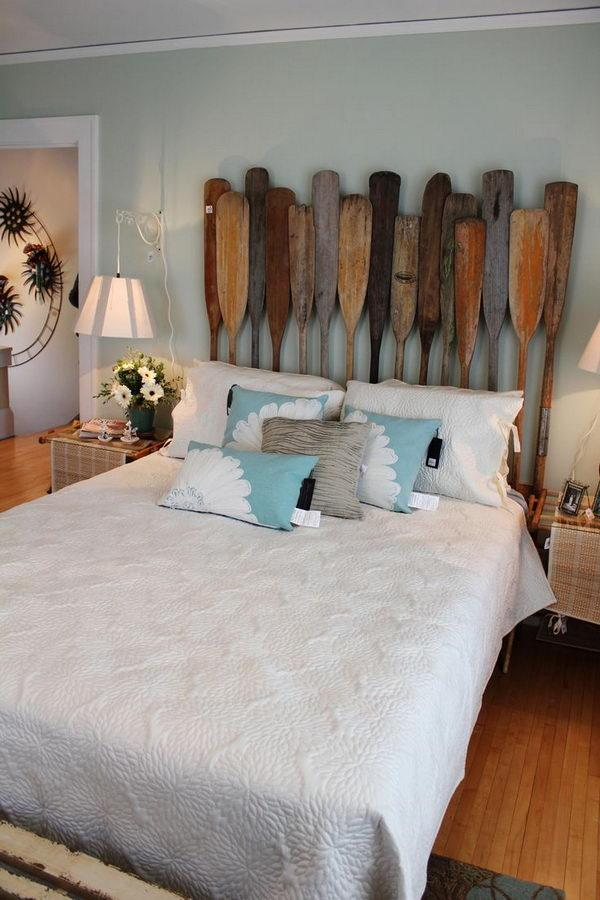 Paddles Decoration For Nautical Room