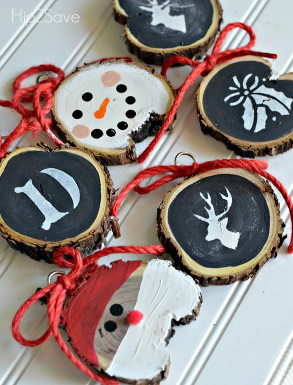 diy-sliced-wood-christmas-ornaments