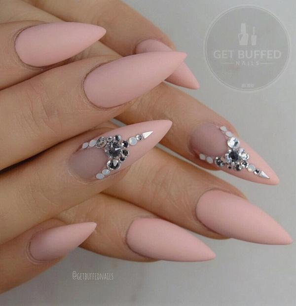 50 Rhinestone Nail Art Ideas Art And Design