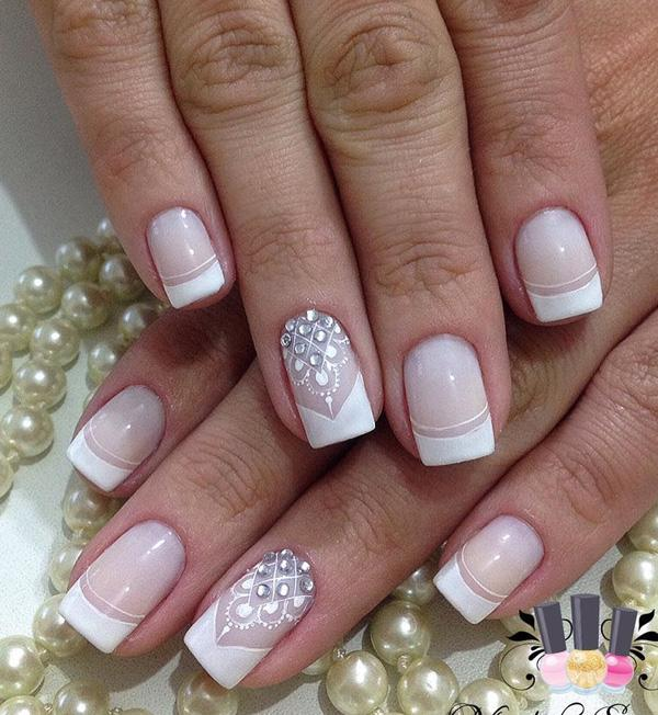 Franch Manicure Is Always In Trend It Only On You To Decide How Youu