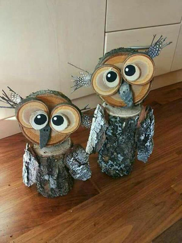 wooden-owls