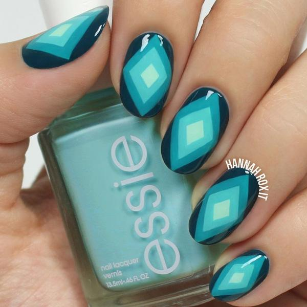 50 Oval Nail Art Ideas Art And Design