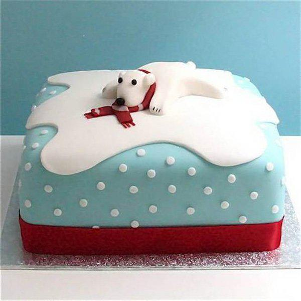 40 Christmas Cake Ideas Cuded