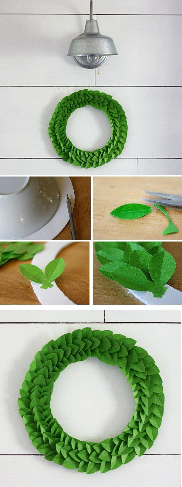 frog-tape-leaf-wreath