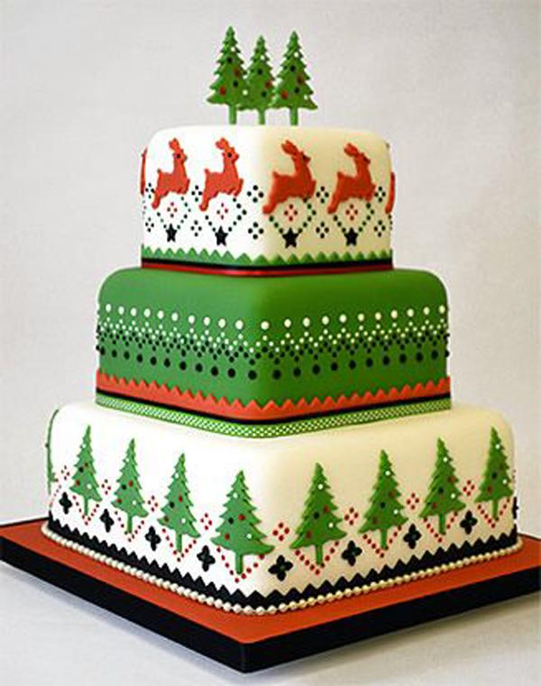 festive-nordic-celebration-cake-created-using-fmm-press-ice-pattern