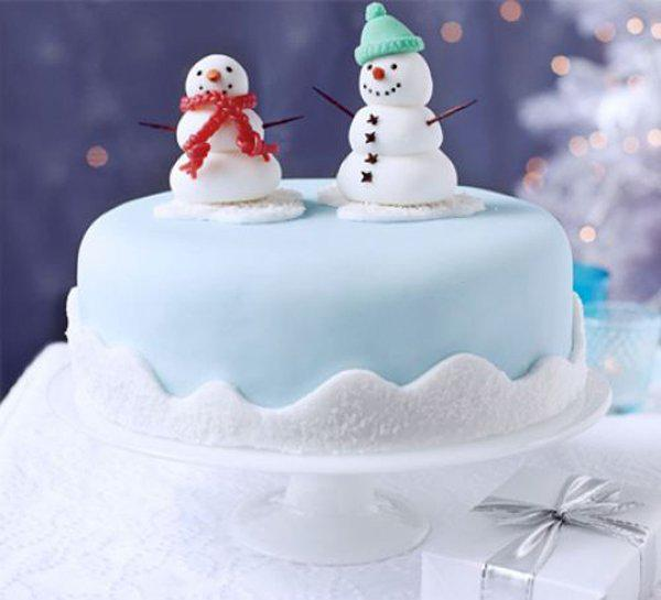 Images Of Christmas Cake Decorations : 40+ Christmas Cake Ideas Art and Design
