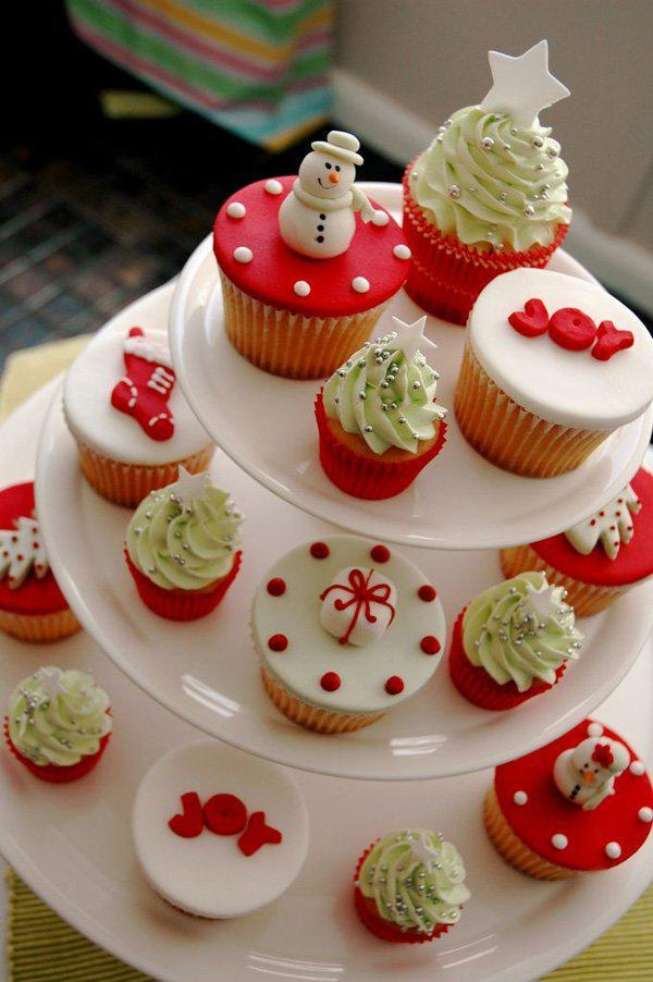1000 Images About Christmas Cupcakes On Pinterest Christmas - Christmas Moment
