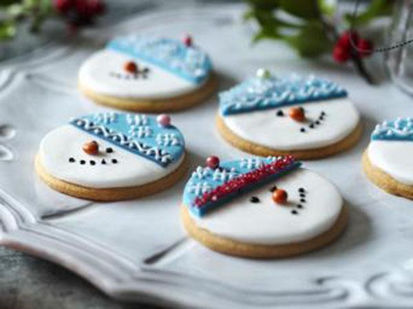 snowman-biscuits