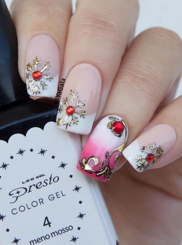 55 Joyful Christmas Nails Ideas | Art and Design