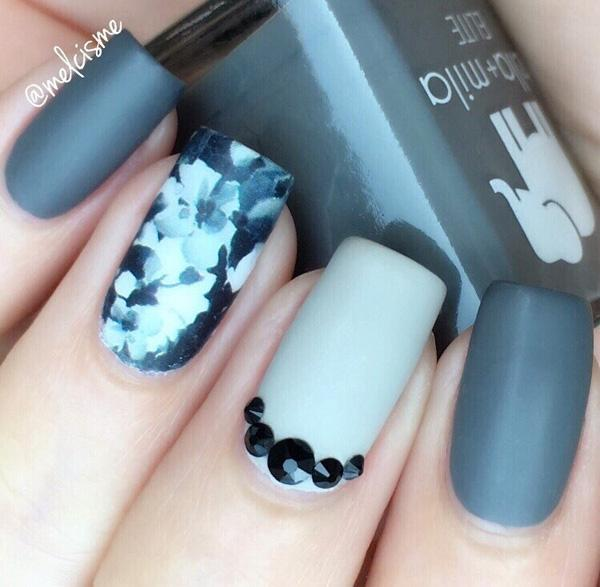 60 Dark Nails For Winter Art And Design