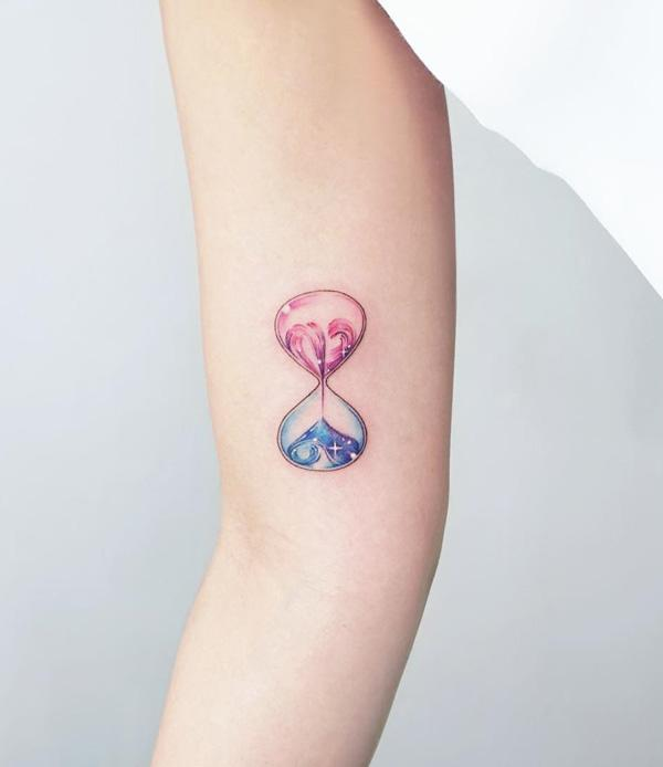 60 Hourglass Tattoo Ideas Art And Design