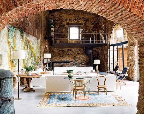 50 Rustic Interior Design Ideas Art And Design - Interesting-old-house-design