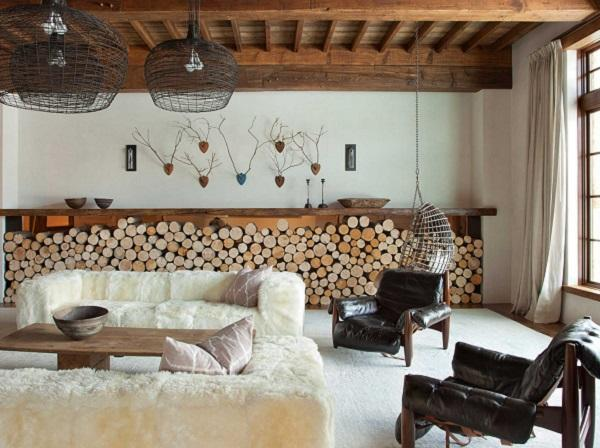 Rustic Interior Design Ideas In Rustic Design Emphasis Is On Natural Colors This Room Is Filled With Natural Materials