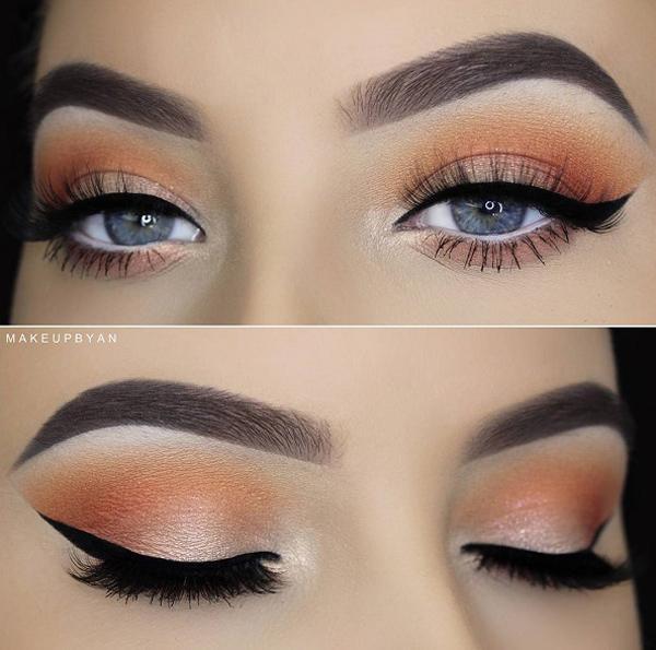 Когда вы выбрали Eye shadow first take in рассмотрите свой естественный цвет глаз, цвет волос и оттенок кожи. Цвет гардероба менее важен, самое главное, чтобы ваша кожа подходила под выбранную вами тень.