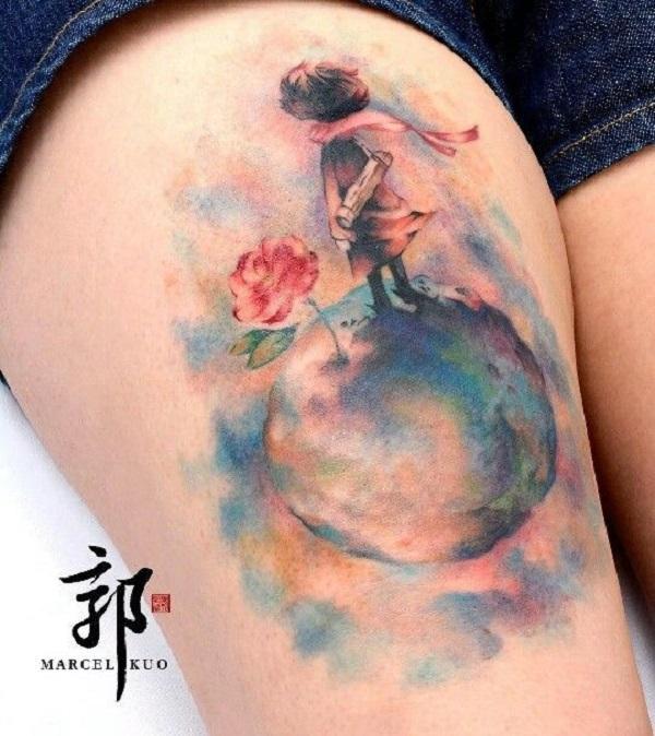 der kleine prinz fuchs tattoo